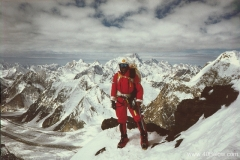 Richard Celsi on Gasherbrum II 1996