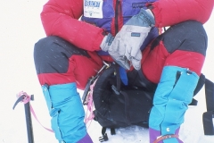 Mountain Guide Eric Simonson using Forty Below equipment