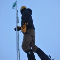 Lance R in Greenland 2012