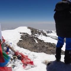 Summit of Muztag Ata 2105