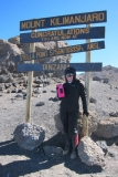 Forty Below Bottle Boot on Kilimanjaro 2015