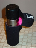 A thermos bottle inside the Bottle Boot 48oz size