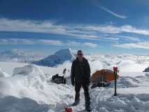 Nelson C. on Denali with FB Camp Booties 2012