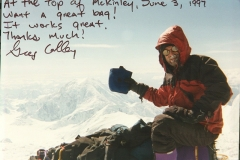 Forty Below Food Bag on Denali 1997