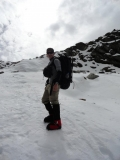 Joe on Mera Peak 2012