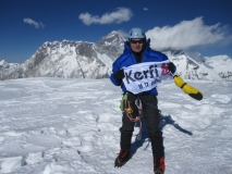 Paul C on Ama Dablam 2010