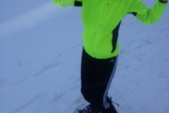 Snowshoeing in Iowa