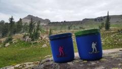 Mug Boots on Teton Crest 2015