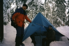 Bill and Joel at first OR camp 1996