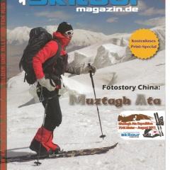 Skitour Magazine Muztagh Ata Front page
