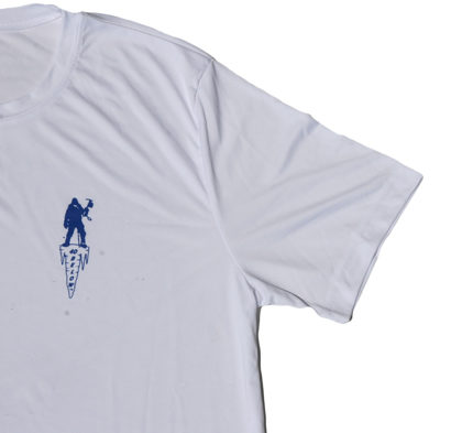 image of the forty below short sleeve shirt white